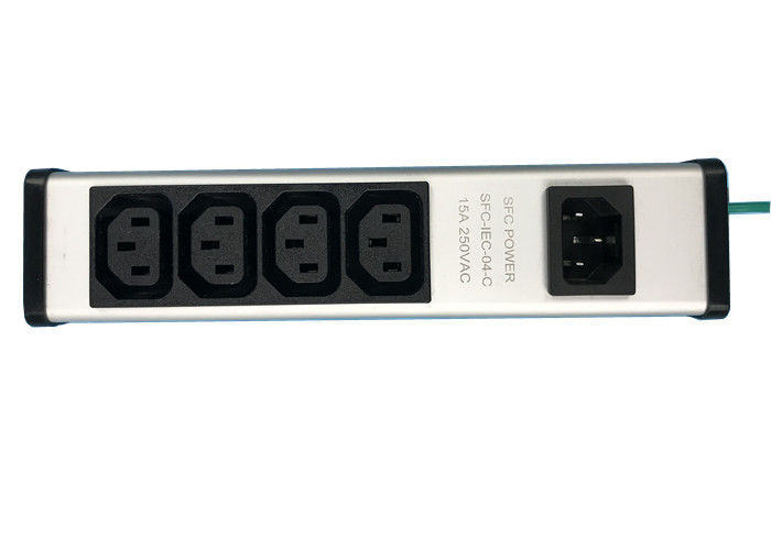 Heavy Duty 4 Way PDU Power Distribution Unit For Installation On Kitchen / Cabinet
